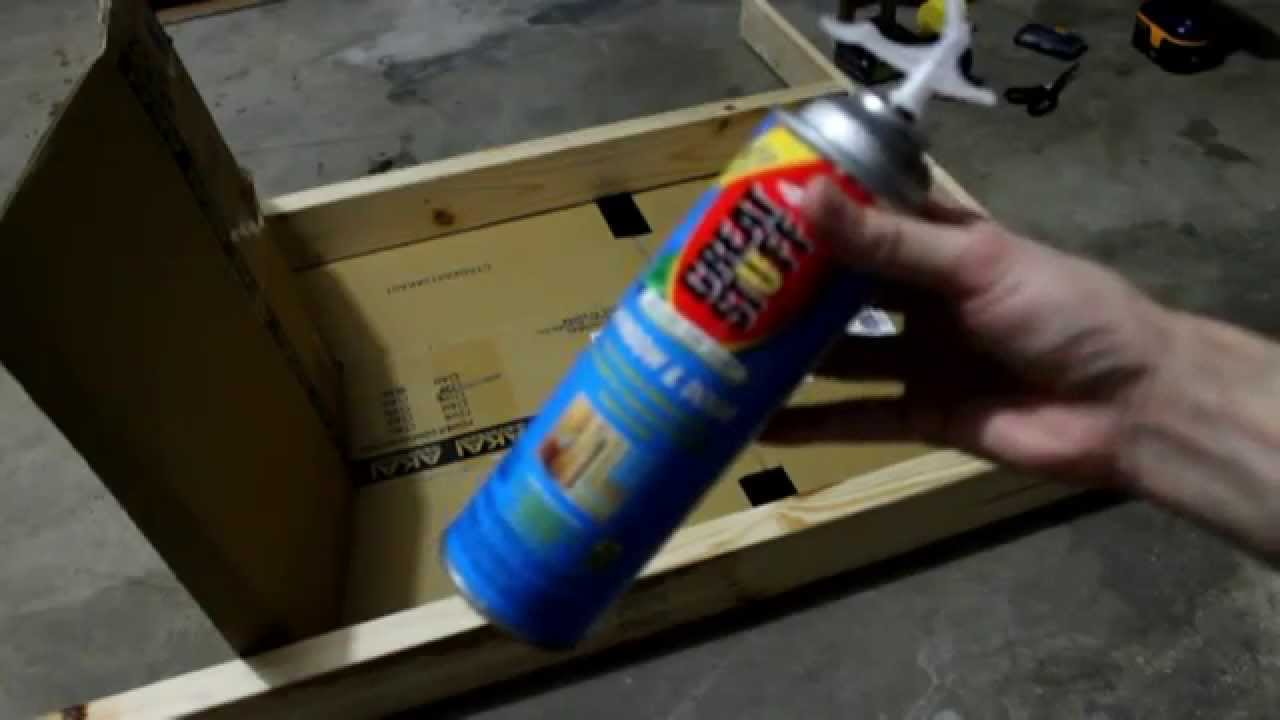 Making a cheap archery target with great stuff foam insulation youtube making a cheap archery target with great stuff foam insulation solutioingenieria
