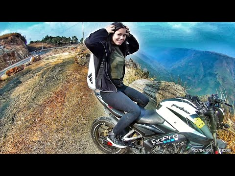 She Loves To Ride | The roads of cherrapunji