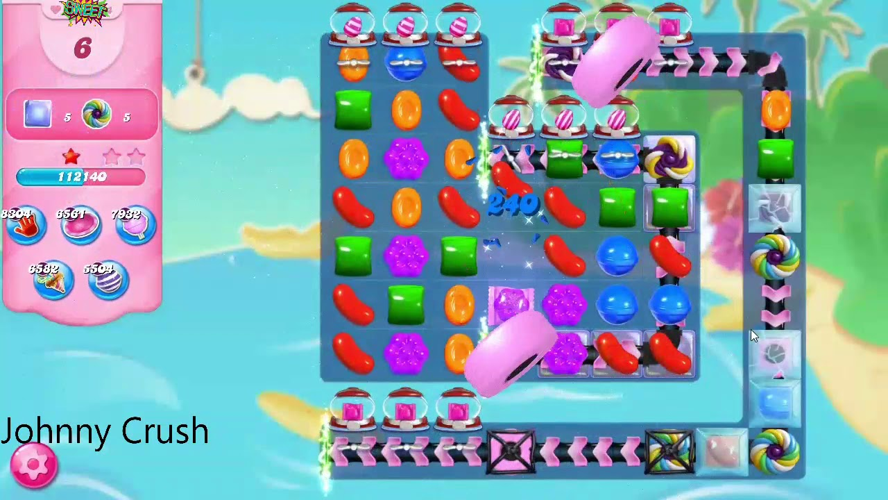 Candy Crush Saga Booster Weg