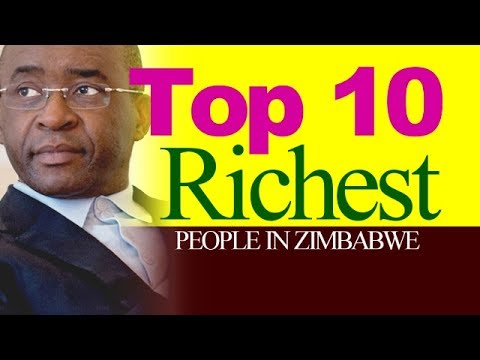 Top 10 Richest People in Zimbabwe