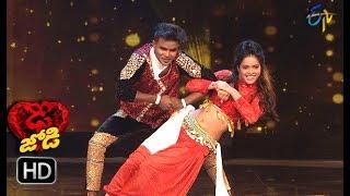 PrabhuDeva and Sonia Performance   Dhee Jodi    10th October 2018   ETV Telugu