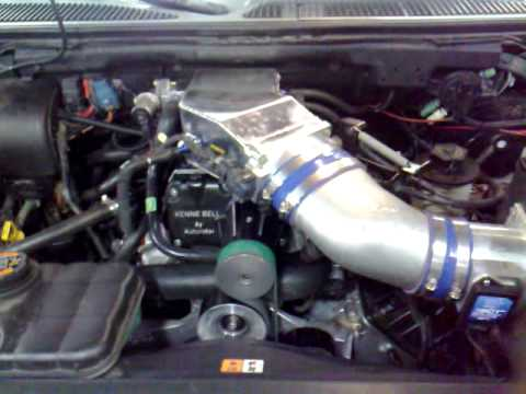Ford Lightning with MMR 900 long block and Kenne Bell 2 3
