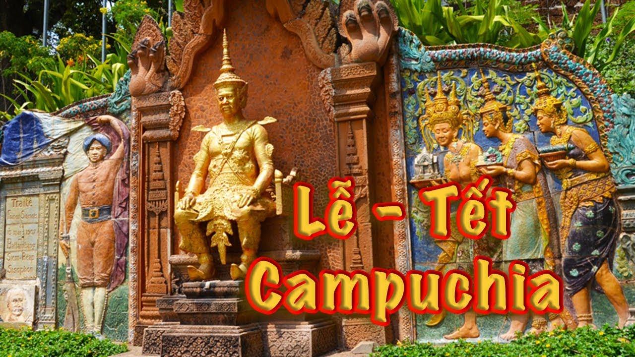 Campuchia | Chùa Wat Phnom – Chùa Vàng Chùa Bạc | Tết năm mới