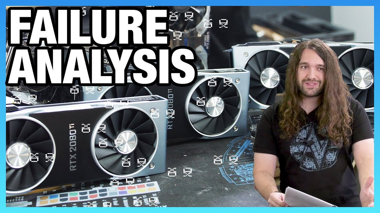 RTX 2080 Ti Failure Analysis: Artifacting, Crashing, Black
