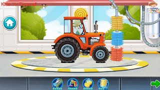 Car Wash Game For Kids (Creative Labs) | Monster Truck Game For Kids | Kids TV Channel