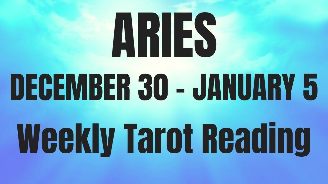 aries tarot weekly 30 to 5 december 2019