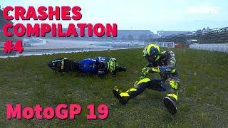 MotoGP 19 | CRASHES COMPILATION #4 | RAINY WET MotoGP CRASHES