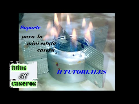 Soporte Para MINI ESTUFA Casera (H Tutoriales) 2da parte