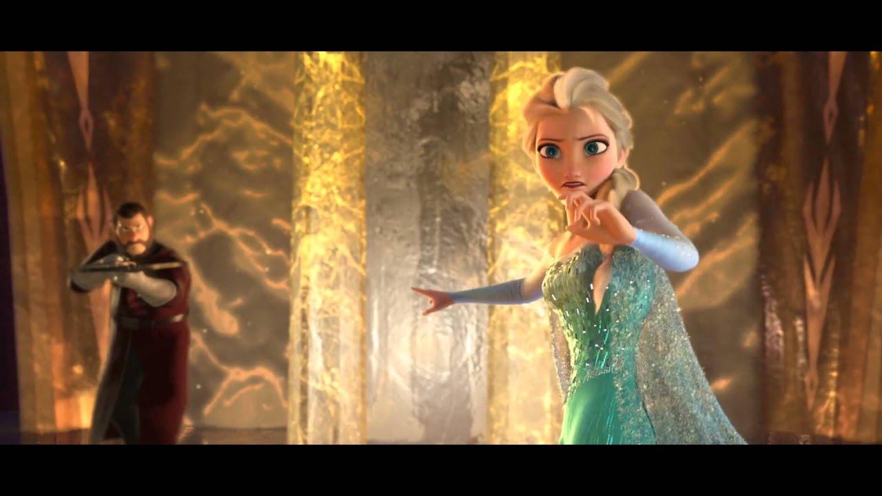Frozen - ATTACK ON ELSA - YouTube