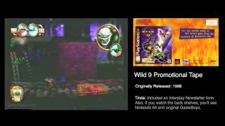 GR: Wild 9 Promotional VHS - PlayStation & Shiny