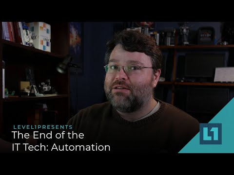 The End of the IT Tech: Automation