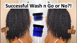 I Tried STYLE FACTOR GEL & EDGE CONTROL for a WASH AND GO and YA'LL!!! | KILLER COMBO!