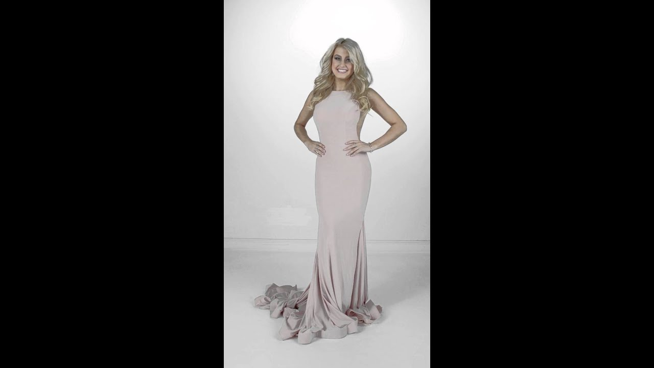 Jovani Blush Dress