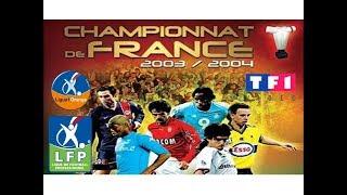 VHS Championnat de France 2003/2004 - Résumé saison Ligue 1 Orange 2003/2004 - TF1