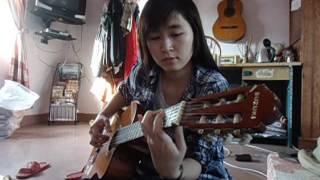 Tong Hua (guitar cover ) - Phía sau ánh mắt buồn