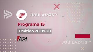 JUBILADOS TV Programa 15 - 20.09.20