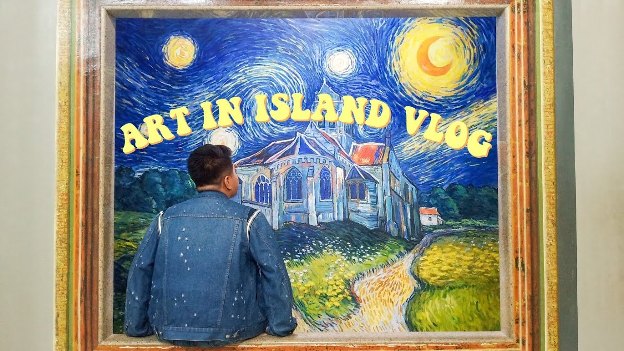 ART IN ISLAND VLOG WITH ADOBERS FAM