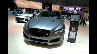 JAGUAR XJ SV 575R SUPERCHARGED XJR 575 WALKAROUND + INTERIOR  SVR