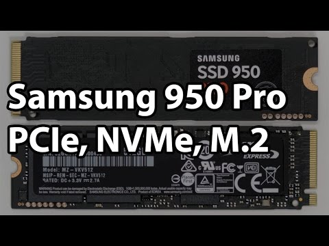 Samsung 950 PRO 256GB and 512GB M.2 NVMe PCIe SSD Review