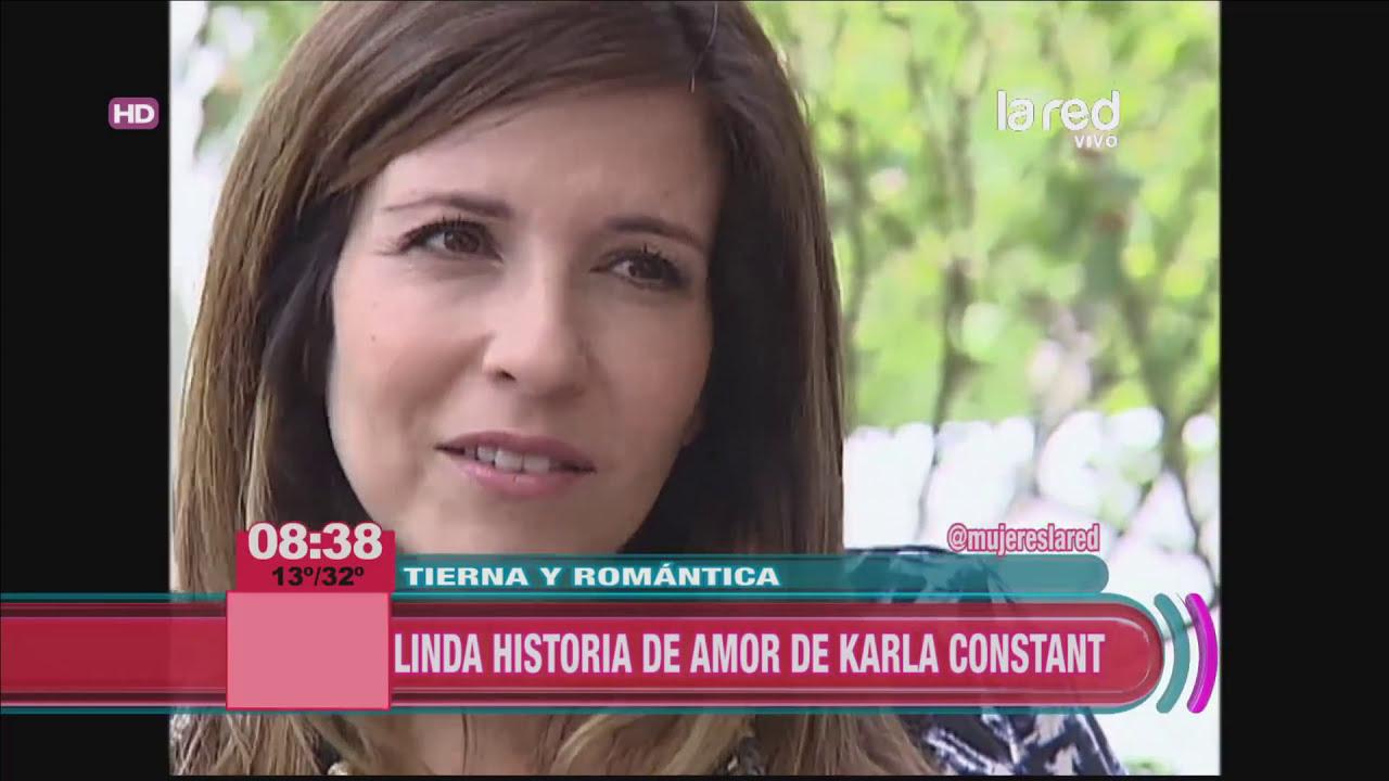 La hermosa historia de amor de Karla Constant - YouTube