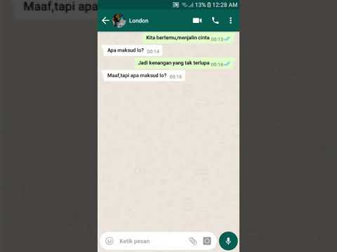 Prank Dengan Lagu Love Scenario Ikon Malah Balas Dendam|Chat Maker