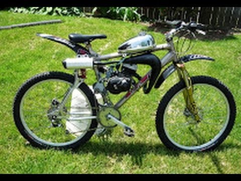 Fast Gt Lst Motorized Bicycle With Ktm 50 Engine And Shift Kit