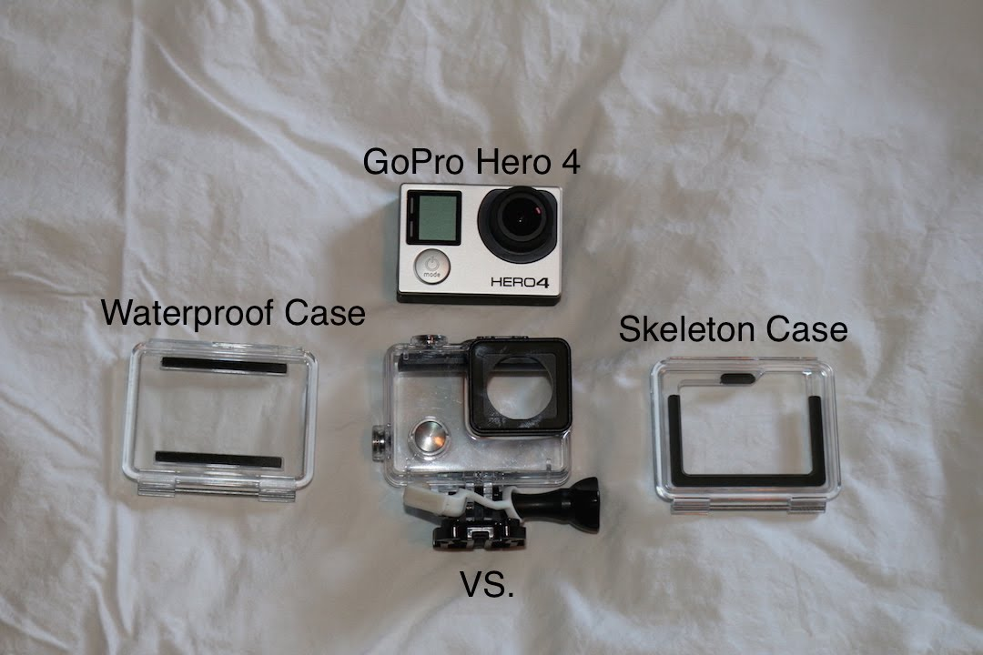 Gopro Hero4 Sound Quality Test Waterproof Case Vs