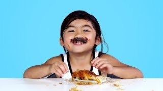 Kids Try French Pastries | Kids Try | HiHo Kids