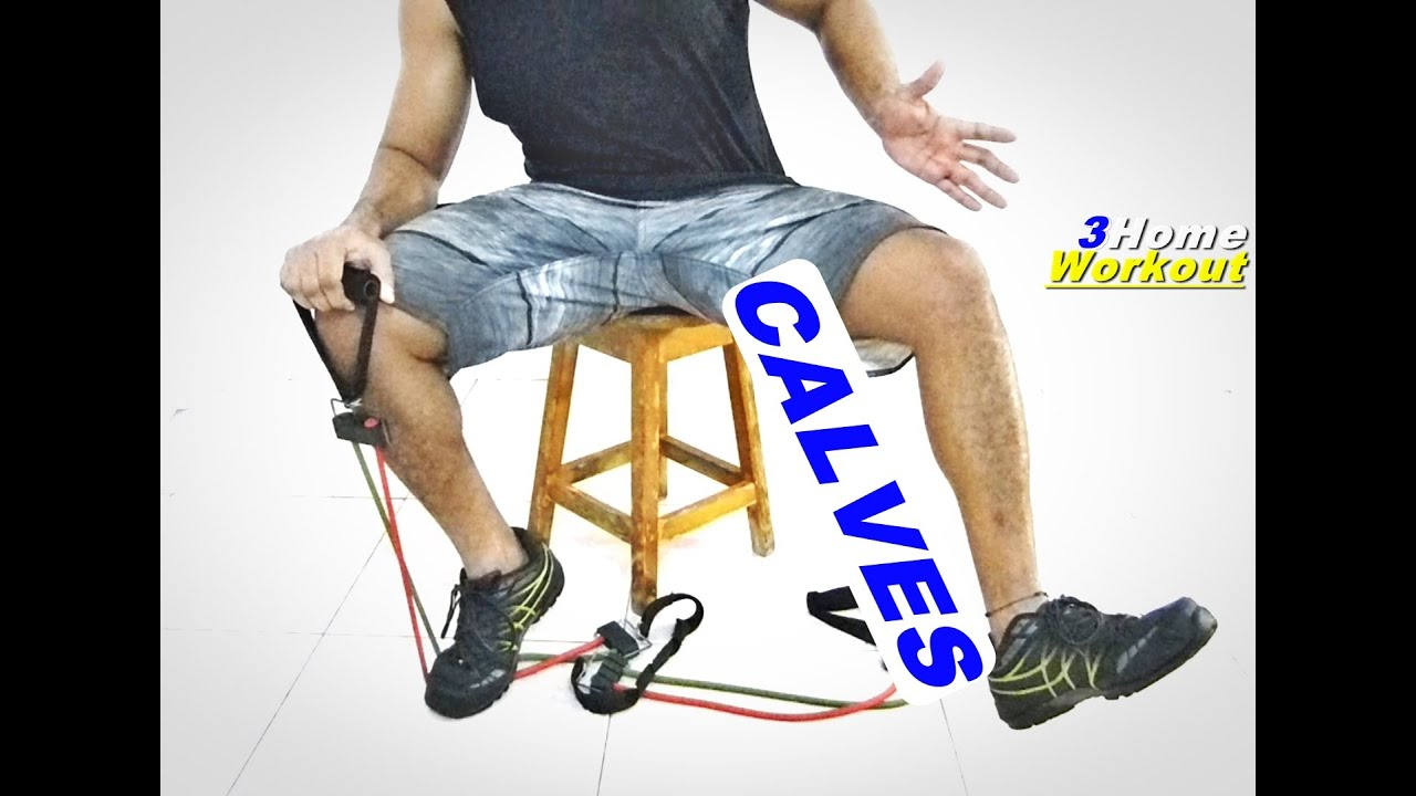 Fitness At Home Calf 1 Leg Rocking Chair Resistance