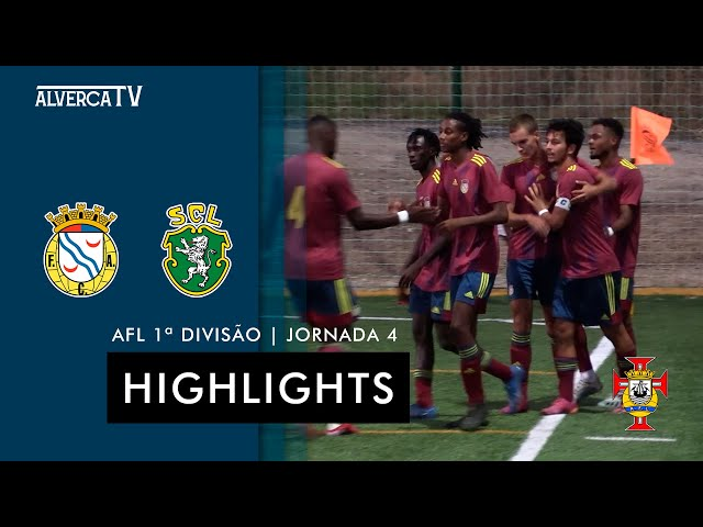 FC Alverca B 3-0 SC Lourel | Highlights