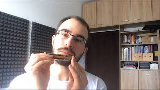 Juraj Schweigert - Harmonica Lesson: A cliche bebop lick