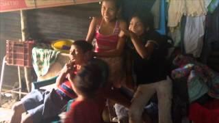 Familia Vasquez - Familia más pobre de San Sebastian, La Paz, El Salvador