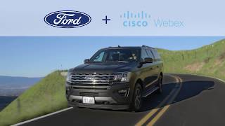 Safer Productivity Behind the Wheel with Cisco Webex Meetings and Ford