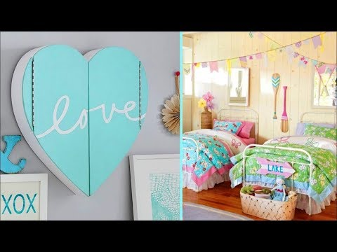 DIY ROOM DECOR! 5 Easy Crafts Ideas at Home for Teenagers. 5-Minute Ideas Girly