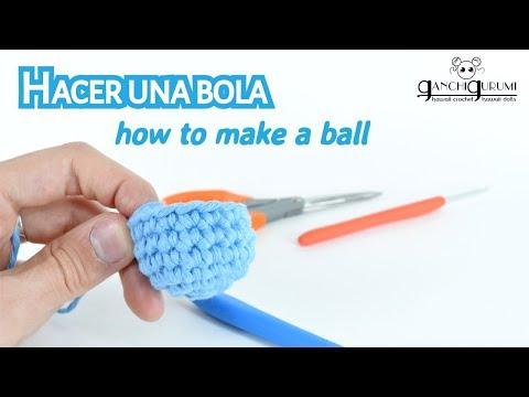 Curso de amigurumi (9) - Cómo hacer una esfera de crochet