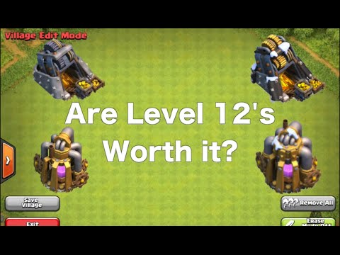 Are Level 12 Mines And Pumps Worth It?