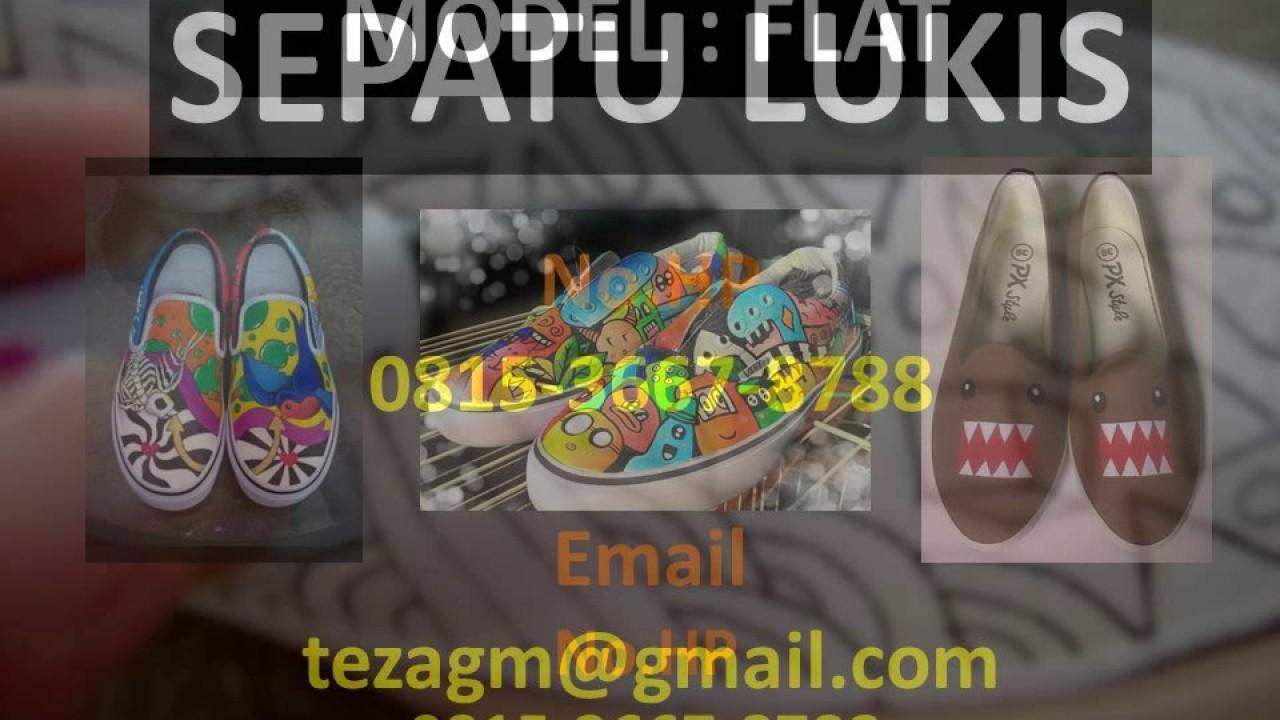 0815-3667-8788 (INDOSAT) Jual Sepatu Lukis Murah - YouTube c772d5fc0a