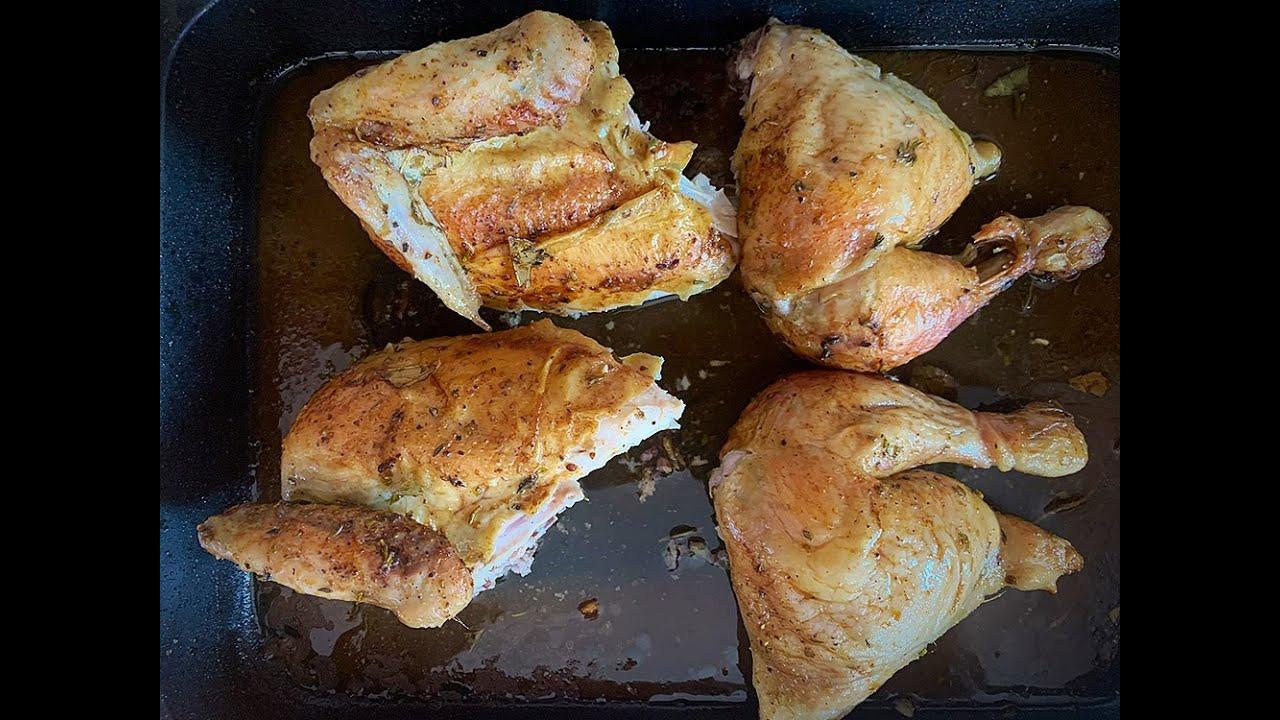 Pollo asado | Con un truquillo