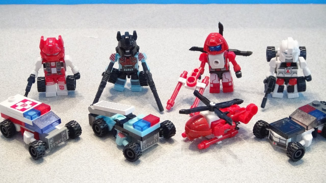 Autobot Ratchet Kreo Review - video dailymotion