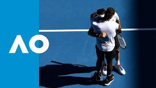 Tiafoe's winning game taking him to the quarter final (4R)   Australian Open 2019
