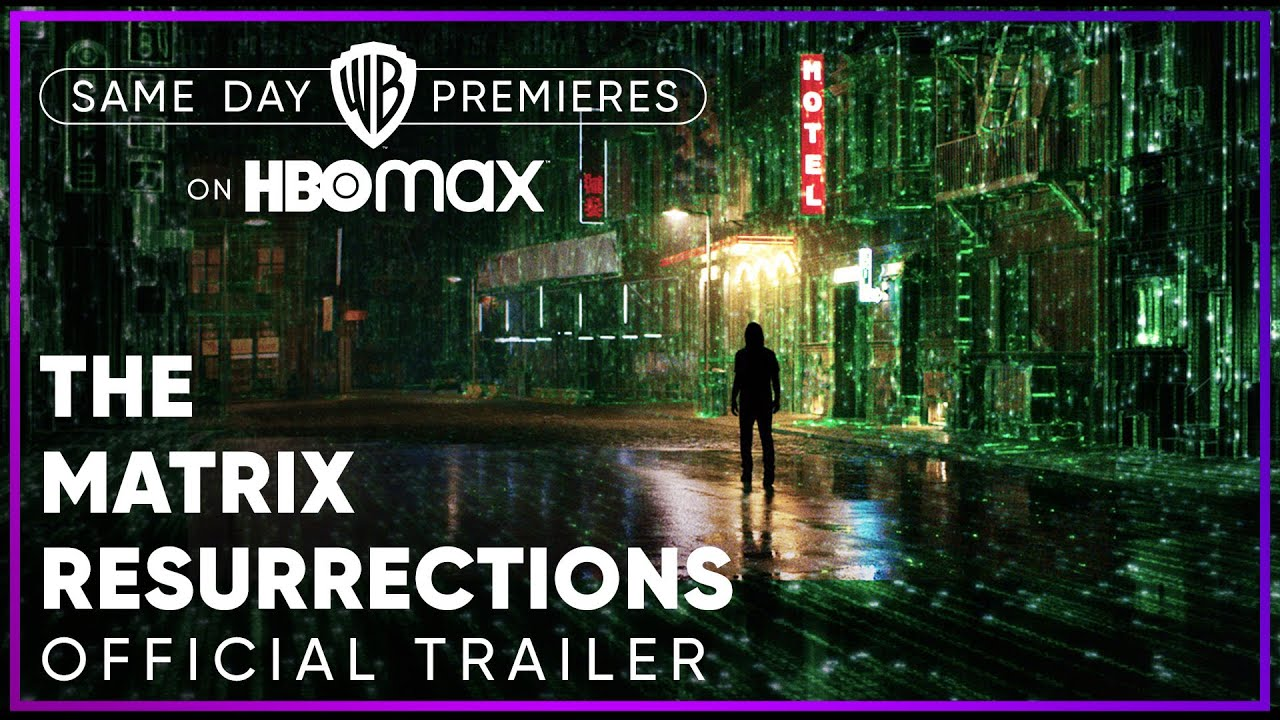 The Matrix Resurrections   Official Trailer   HBO Max