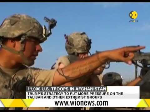 Pentagon acknowledges presence of 11,000 US troops in Afghanistan
