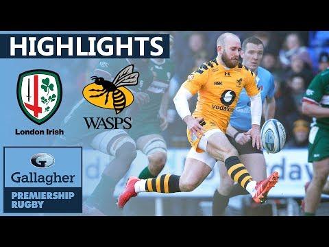 London Irish v Wasps | Bonus Points Sealed In Topsy Turvy Encounter | Gallagher Premiership