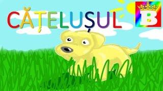 Catelusul  Poezii pentru copii de gradinita   Bogdan`s Show. Desene animate în româna.