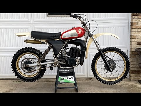 BUYING A 1980 HUSQVARNA 250CR - 41 YEAR OLD DIRTBIKE
