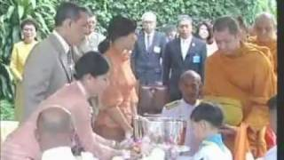 Repeat youtube video 9DEC11 THAILAND's NEWS ; PART1 ; Birthday of HRH Princess Srirasmi