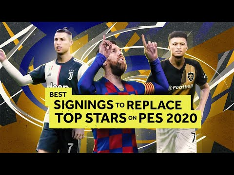 Best Signings to Replace Top Players on PES 2020 Master League