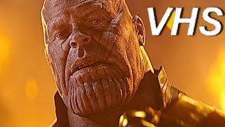 Мстители: Война бесконечности (трейлер Blu-Ray) - русский и ламповый - VHSник