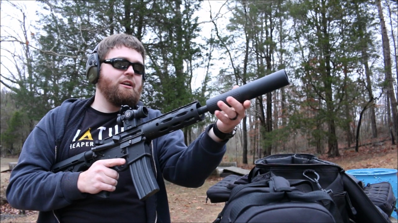 A quick look at the Yankee Hill Suppressor