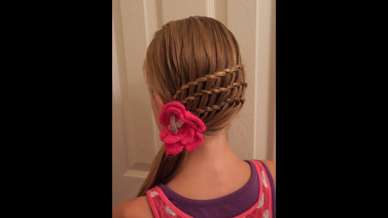Triple Waterfall Twist Ponytail Bonita Hair Do Youtube